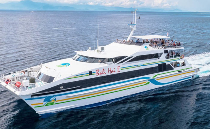 Enjoy a day of absolute adventure boarding the Bali Hai cruise